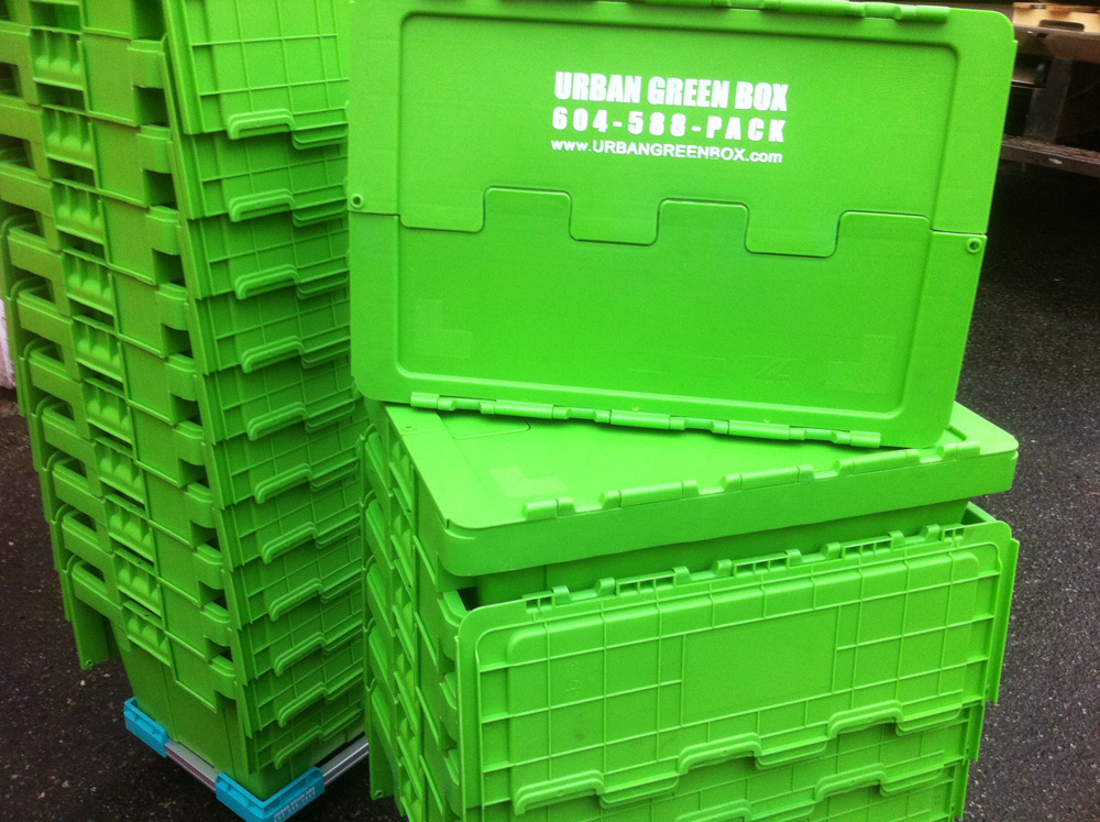 Urban green box reusable eco friendly moving boxes for Eco boxes